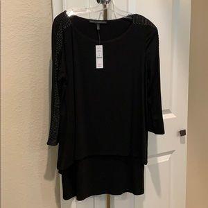 White House black market 2 layer tunic/mini dress